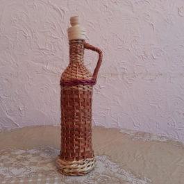 Бутылка из лозы 07