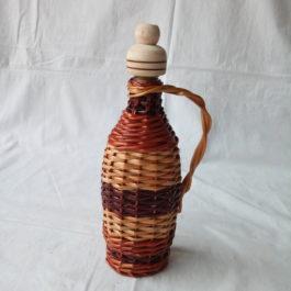 Бутылка из лозы 18