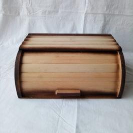 Деревянная хлебница для хранения хлеба 04