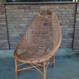 Кресло плетеное из лозы 02