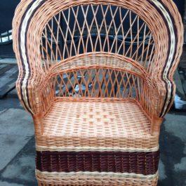 Кресло плетеное из лозы 07