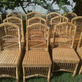 Кресло плетеное из лозы 10