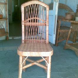 Кресло плетеное из лозы 12