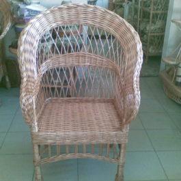 Кресло плетеное из лозы 13