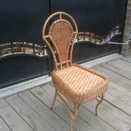 Кресло плетеное из лозы 15