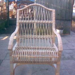Кресло плетеное из лозы 16