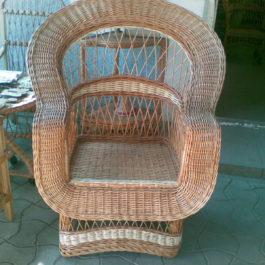 Кресло плетеное из лозы 17