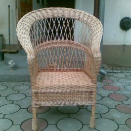 Кресло плетеное из лозы 19