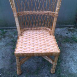 Кресло плетеное из лозы 20