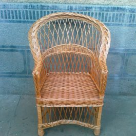 Кресло плетеное из лозы 22