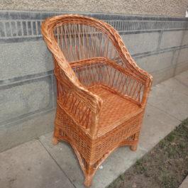 Кресло плетеное из лозы 23