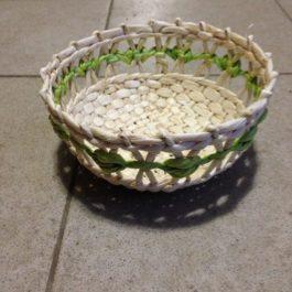 Хлебница из кукурузы 05